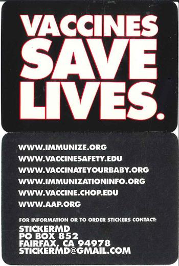 Vaccine Save Lives